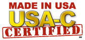 USA-C Made in USA Certified