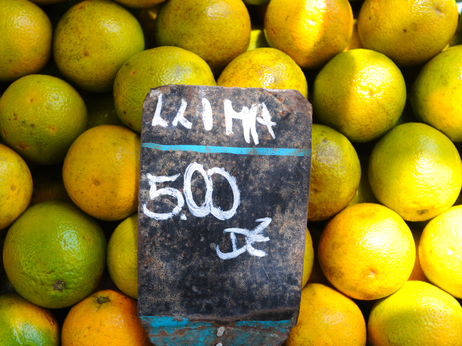 Antonio Scorza/AFP/Getty Images Oranges for sale at a market in Rio de Janeiro.