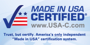 Check seal Made in USA Certified
