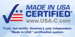 MADE IN USA CERTIFIED® STAMP
