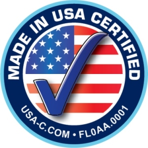 Made in USA Certified Seal