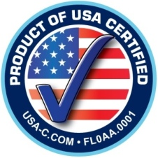 Product of USA Certified