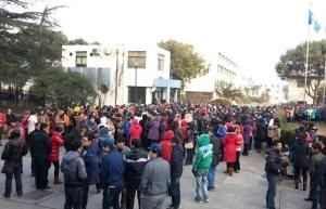 Chinese Revolt Bathroom breaks Shanghai Shinmei Electric Company