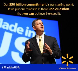 Walmart's Bringing Manufacturing Back To The US; But Not The Jobs