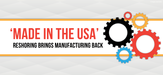 Reshoring: Manufacturing Jobs Returning to America