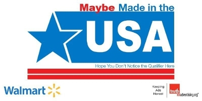 Walmart.com Riddled with Deceptive Made in USA Claims