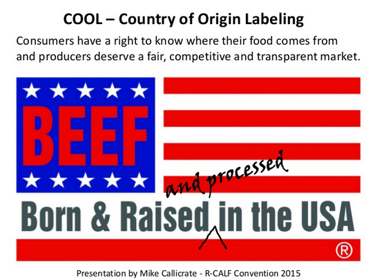 R-Calf to USDA: Keep FMD out of The USA, Made in USA Beef, Processed in USA Beef