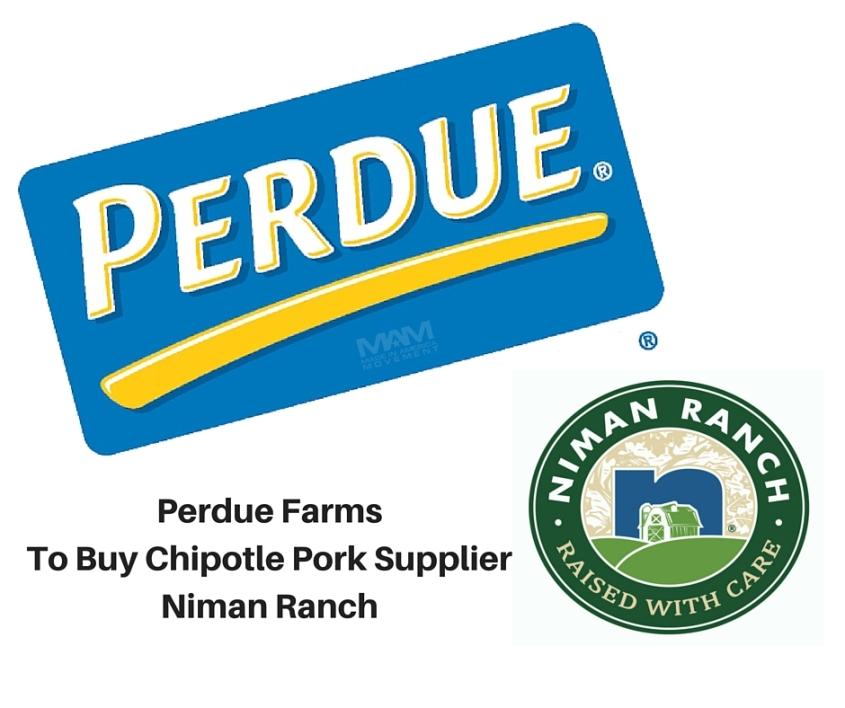 Perdue Farms to buy Chipotle pork supplier Niman Ranch