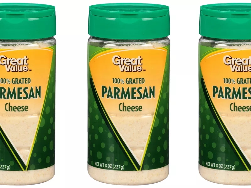 Walmart Sued for Selling Parmesan Cheese Containing Wood Pulp