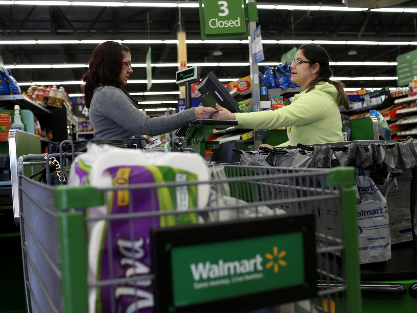 Walmart's customers are too broke to shop