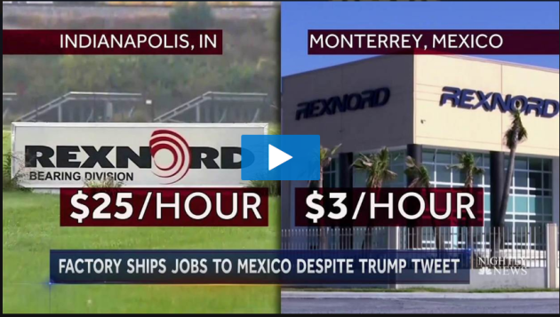 Rexnord Ships Jobs to Mexico